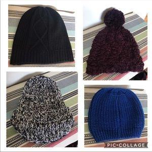 Winter beanie bundle of 4